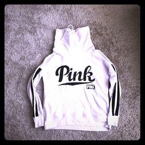 Pink cowlneck sweatshirt